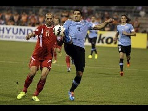 Jordan vs Uruguay: FIFA World Cup 2014 Qualifiers Intercontinental Play-offs