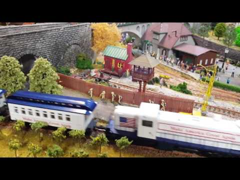 Trump Train scale model HO