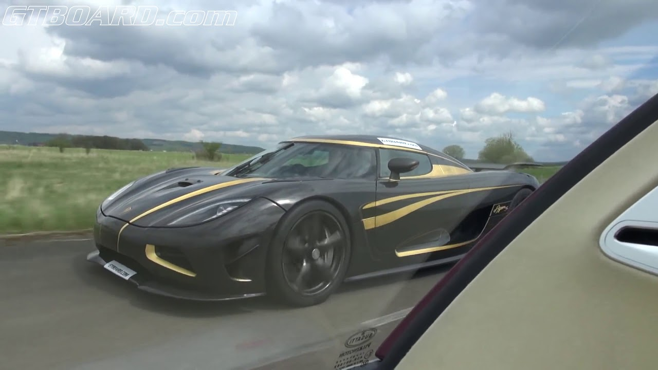 Bugatti and Koenigseggs, Porsche Carrera GT, Ferrari 599 GTO