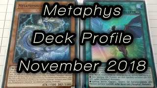Metaphys Deck Profile Yugioh! NOVEMBER 2018 BudgetDecks!