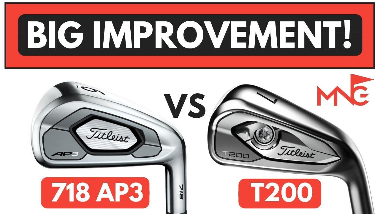 Titleist T200 Iron VS Titleist 718 AP3 Iron
