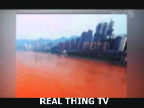 Rev 16:4 FullFilled! China's Yangtze River Turns Blood!