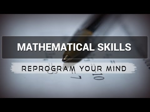 Positive Affirmations for Mathematical Skills - Law of attraction - Hypnosis - Subliminal