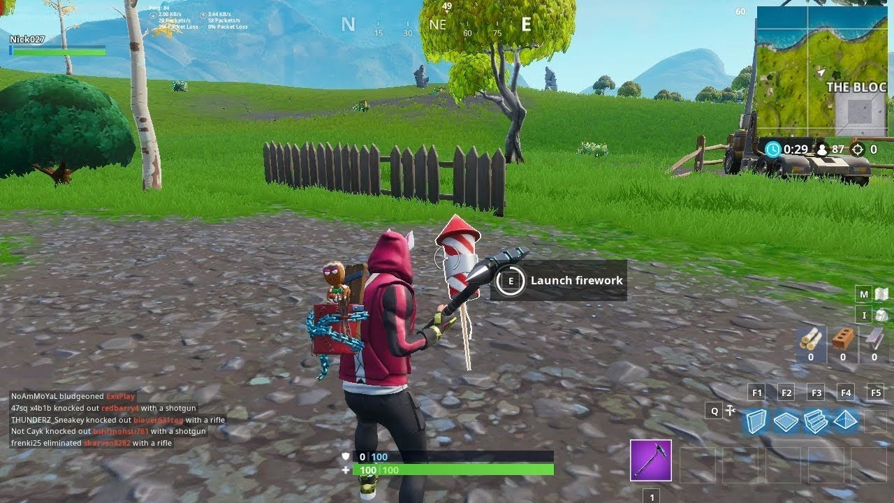 All Firework Locations Guide Week 4 Challenges Fortnite Battle