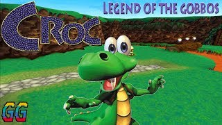 PS1 Croc: Legend of the Gobbos 1997 PLAYTHROUGH (100%)