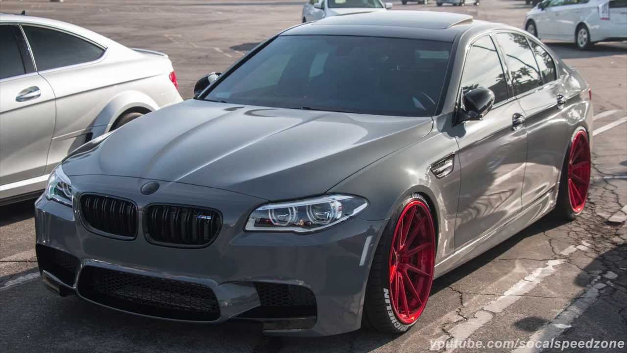 Modified Bmw M5 Leaving Supercar Sunday Youtube