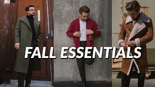 7 Mens Staples You NEED This Fall | Fall/Winter 2018 Staples and Essentials | Jordan O