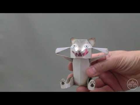 Kamikara Paper Toys by Haruki Nakamura