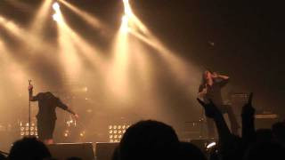 Trail Of Tears - Once Kissed By The Serpent & A Fate Sealed In Red Live @ MFVF IX,Wieze 22/10/2011