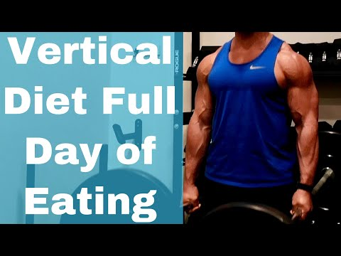 Vertical Diet Full Day of Eating