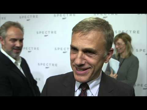 "Spectre: Christoph Waltz ""Franz Oberhauser"" Interview on the new James Bond Movie"