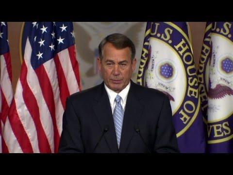 John Boehner: I'm suing President Obama