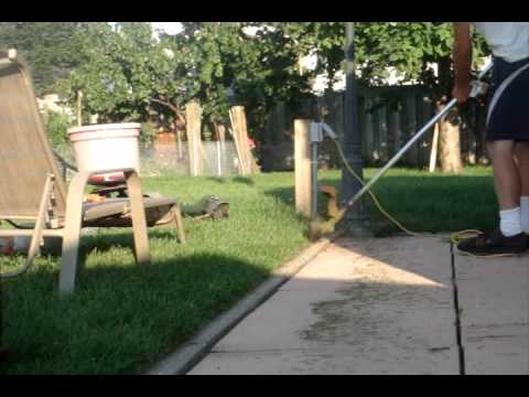 Edge Your Lawn Using A Trimmer Vs A Lawn Edger Youtube