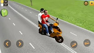 Offroad Bike Taxi Driver : Motorcycle Cab Rider Game #Bike Games #3D Bike Game