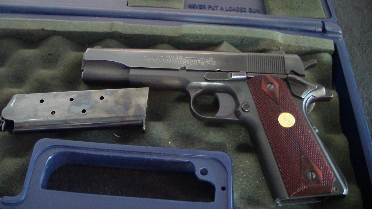 Colt 1911 series 80 government model unboxing  BATJAC J W