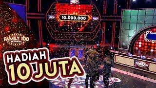 Wow! Tim Amis bisa bawa pulang Hadiah 10 JUTA! - Family 100 Indonesia