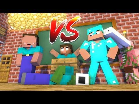 download Monster School : NOOB vs PRO Challenge - Minecraft Animation