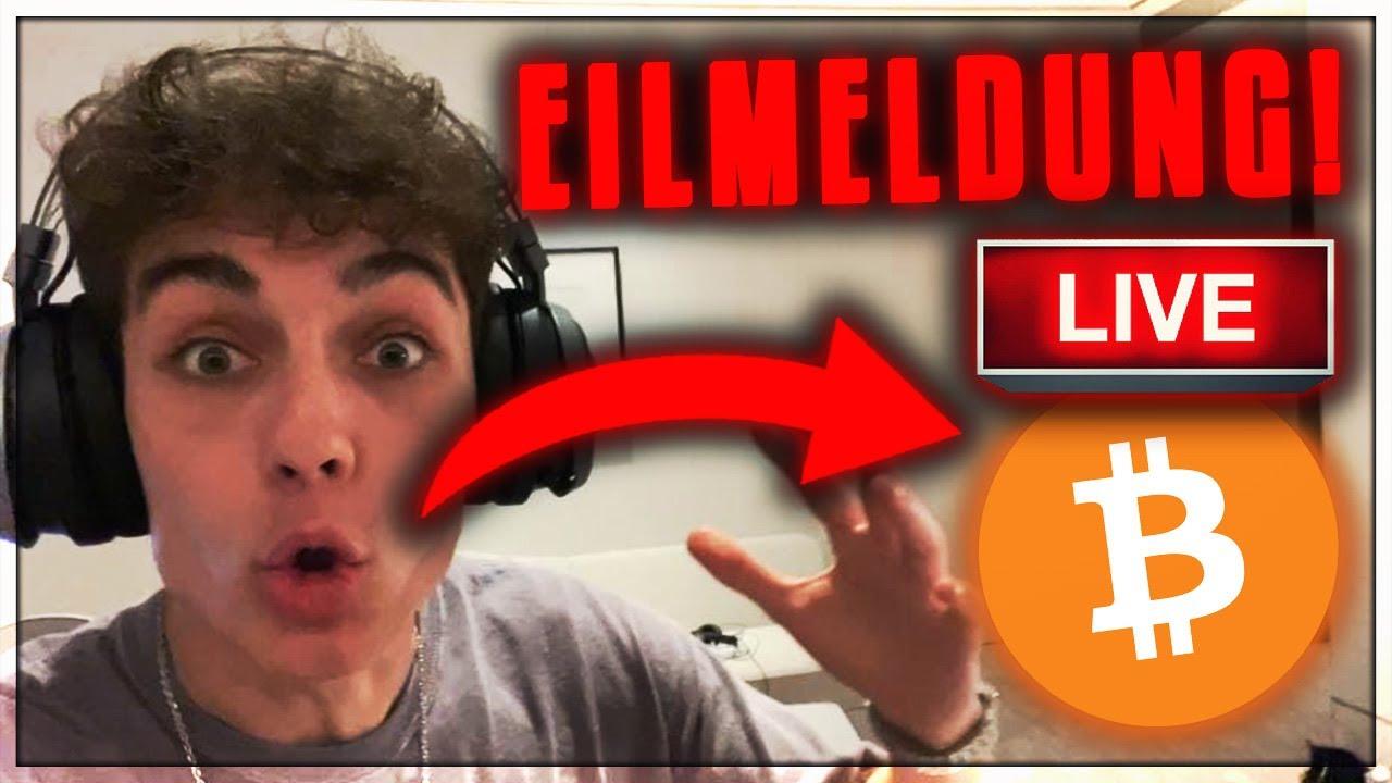 OMG!!!!! BITCOIN CRASH JETZT VORBEI!!!!??!!!! [EILMELDUNG LIVE!!!!!]