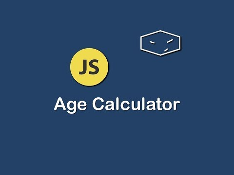 Age Calculator In Javascript