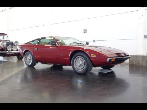 1977 Maserati Khamsin Coupe In Burgundy & V8 Engine Sound On My Car Story With Lou Costabile