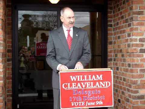 Republican Bill Cleaveland for Virginia's 17th Dis...