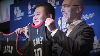 NBA Japan Games 2019 initial announcement