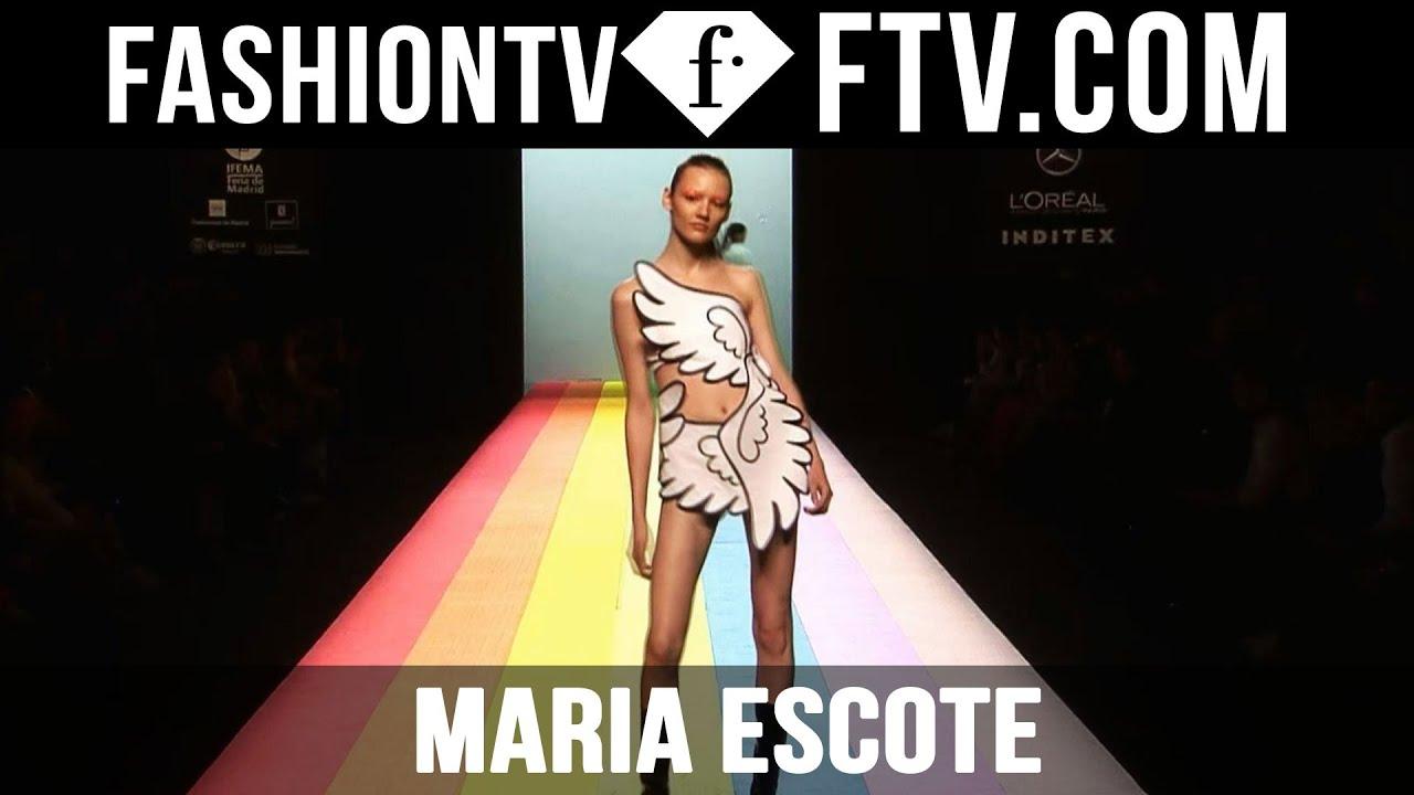 Maria Escote at Madrid Fashion Week F/W 16-17   FashionTV