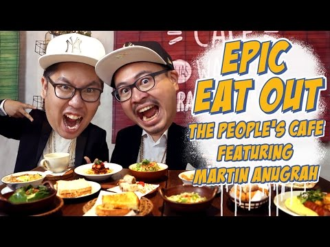 EPIC EAT OUT #4: Epic Battle At The People's Cafe | PUTRA SIGAR FEAT. MARTIN ANUGRAH CAMEO PROJECT
