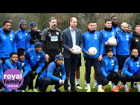 Duke of Cambridge Visits West Bromwich Albion to Discuss Mental Health thumbnail