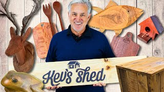 Creative Woodworking - Kevs Shed