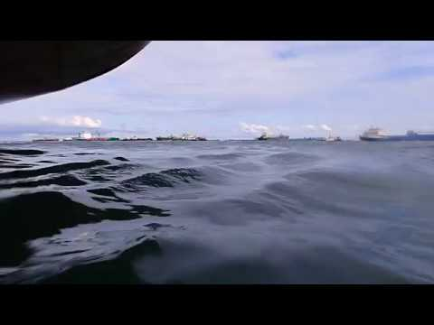 Scuba diving ship propeller before cleaning part 1