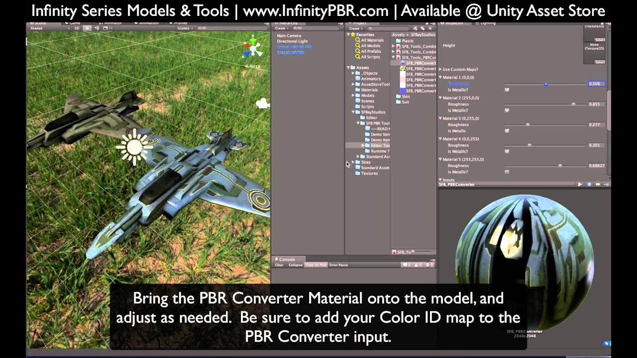 Infinity PBR - Procedural Physically Based Rendered Assets
