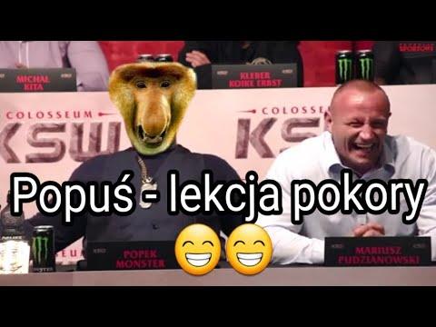 Popek - Parodia zawodnika MMA - lekcja pokory zabawne