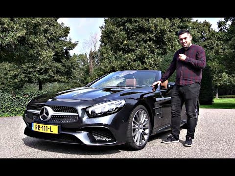 Mercedes SL 500 2019 NEW Full Review Interior Exterior Infotainment   Drive Test
