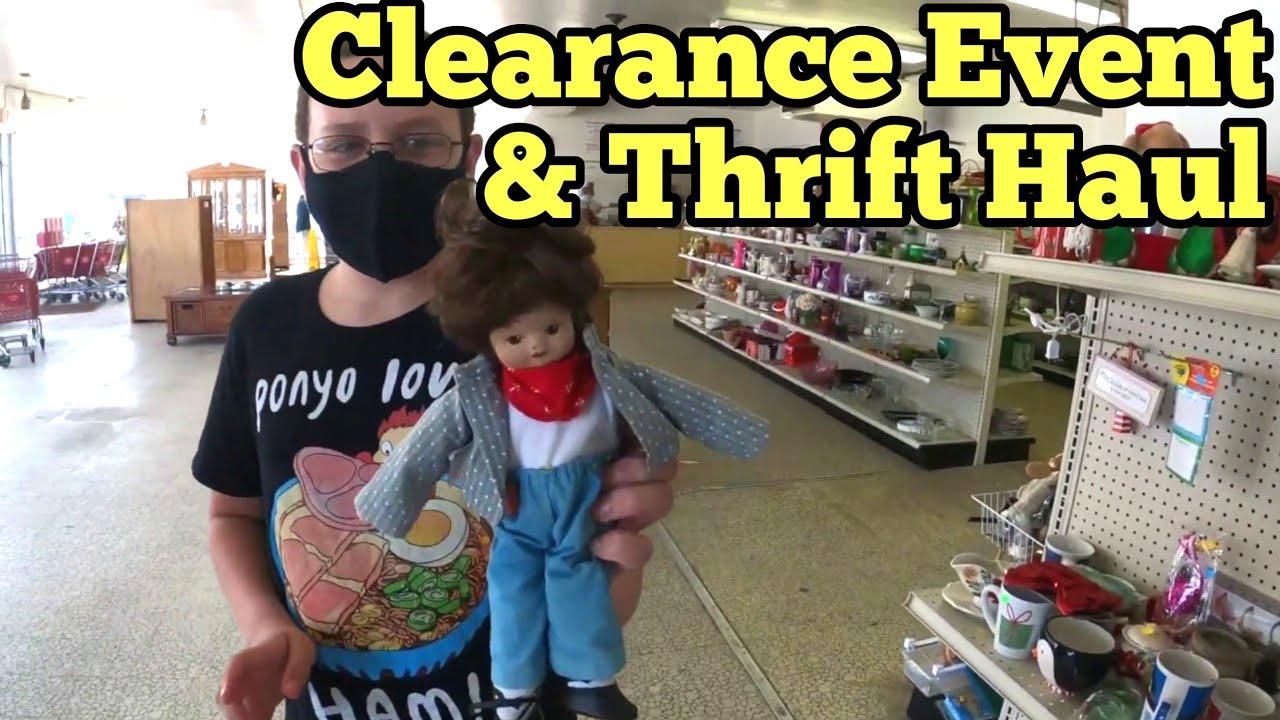 $1 & Less Dollar General Clearance Update   Flea Market Thrift Store Shopping