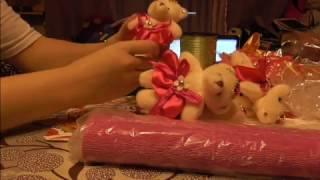 Как сделать букет из игрушек мастер класс
