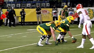 "North Dakota State ""Swinging Gate"" Trick Play vs Youngstown State 