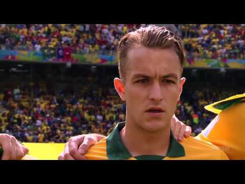 World Cup 2014 National Anthems - Australia vs Spain