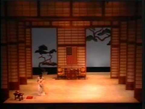 Flower Duet, Puccini's Madama Butterfly