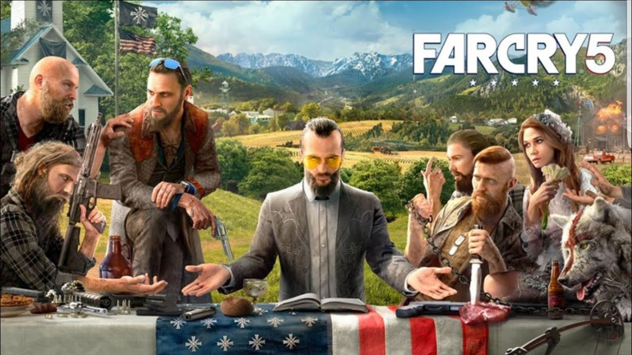 Farcry 5 LIVE #1 - First Look
