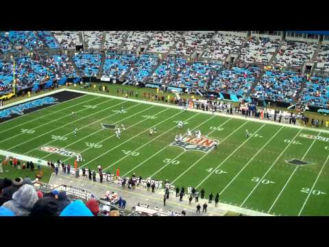 View from Section 512 Bank of America Stadium