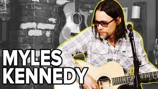 Myles Kennedy, 'Devil on the Wall' (Acoustic Performance)