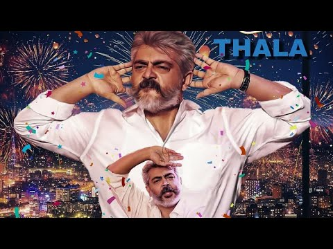 Happy Birthday Thala Ajith Mass Vera Level WhatsApp Status Video