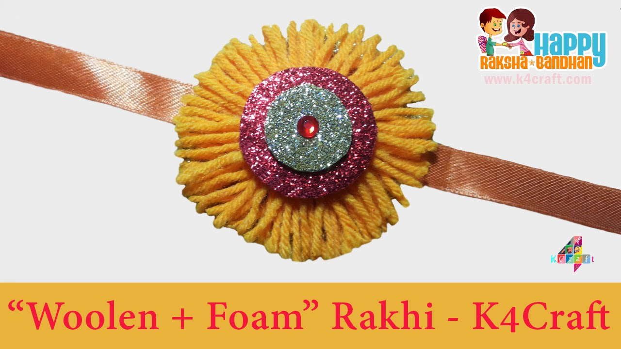Papercraft DIY: Rakhi Making -