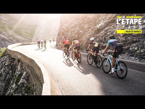 L'Étape by Tour de France arrives in Spain