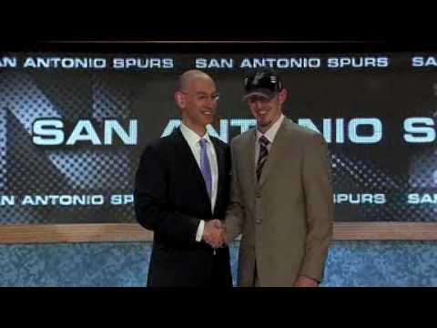 Nando De Colo. NBA Draft 2009. San Antonio Spurs