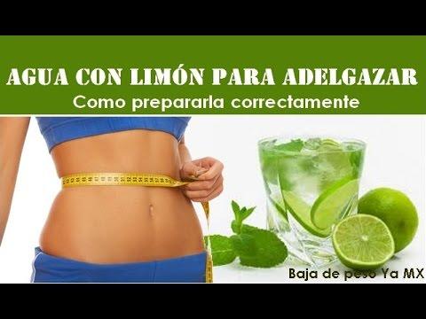 Beneficios del limon en ayunas para adelgazar