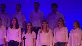 iVoices auf der Bühne des Reese Theaters Augsburg, als Gast auf dem...
