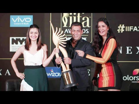 Salman Khan, Katrina Kaif & Alia Bhatt At IIFA Awards 2017 Press Conference