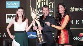 Salman Khan, Katrina Kaif & Alia Bhatt At IIFA Awards 2017 Press Conference